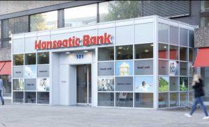 Filiale der Hanseatic Bank in Hamburg